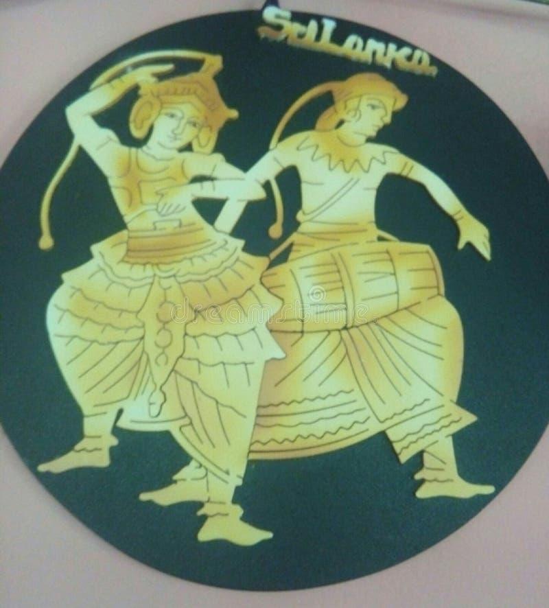 Sri Lanka dansare arkivfoton