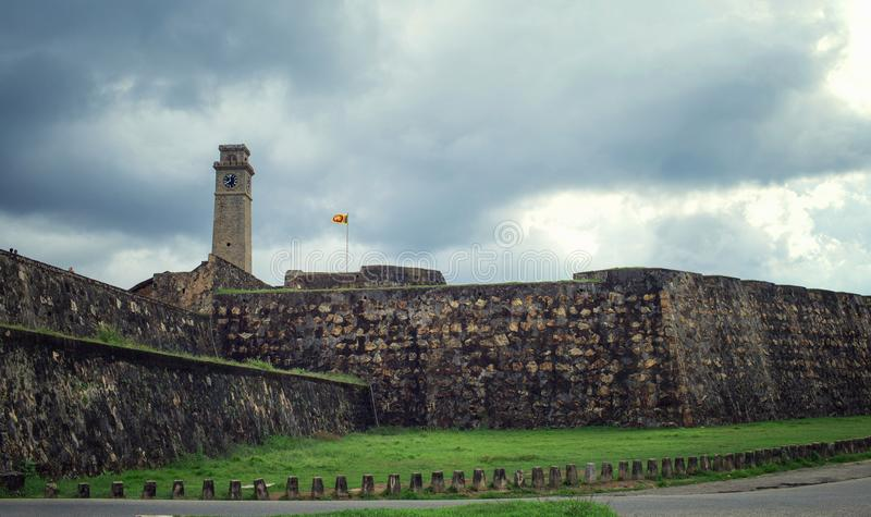 The Galle fortress, Sri Lanka stock images