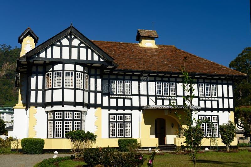 Sri Lanka kolonisty architektura obrazy stock