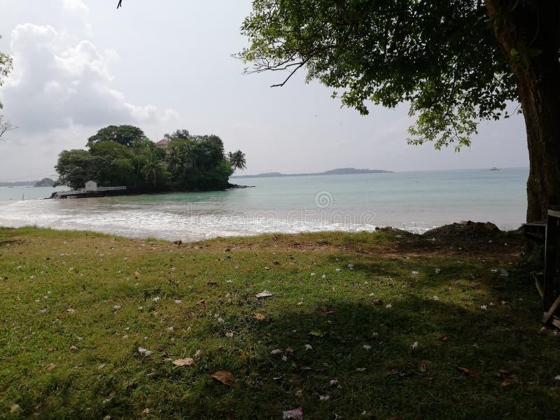 Sri Lanka-Paradies Tempel lizenzfreie stockfotos