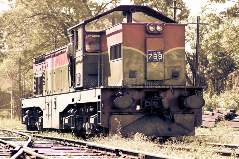 Sri Lanka pociąg Zafrachtowania, transport zdjęcia stock