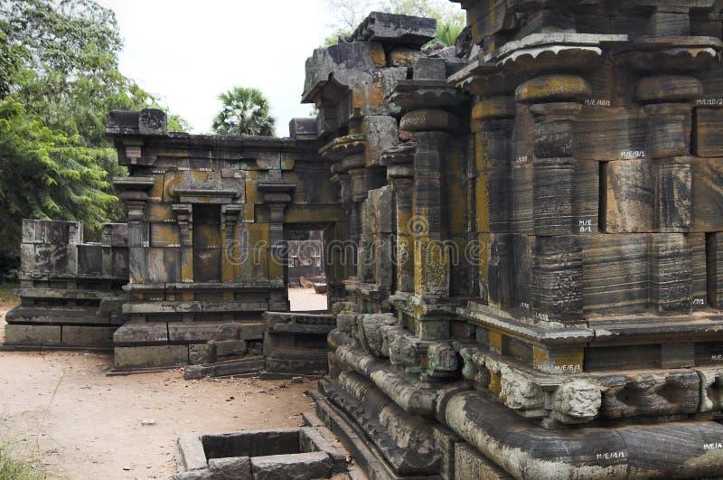 Sri Lanka - Polonnaruwa royalty-vrije stock fotografie
