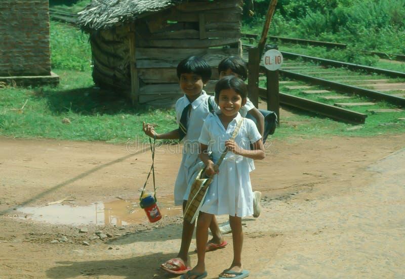 Sri Lanka pupils stock images