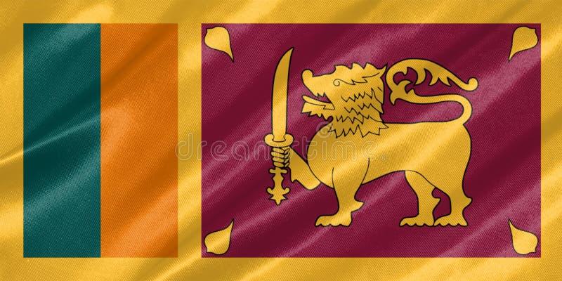 Sri Lanka sjunker stock illustrationer
