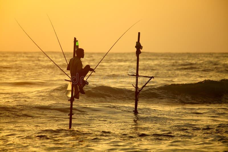 Sri Lanka, south coast - January royalty free stock photos