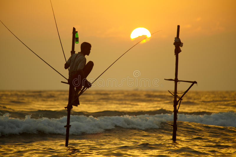 Sri Lanka, south coast - January stock image