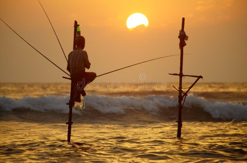 Sri Lanka, south coast - January 06; 2011: traditional sri lanka stock images