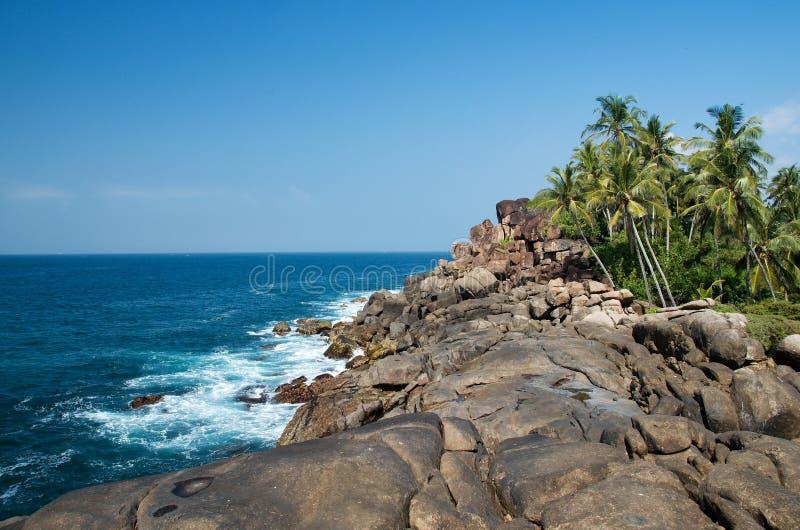 Sri Lanka-strand 5 stock afbeeldingen