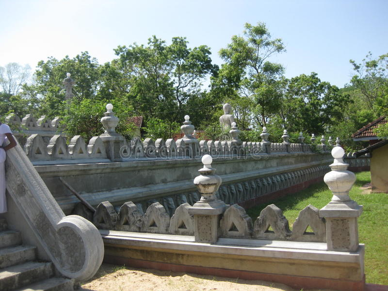 Sri lanka temple royalty free stock image