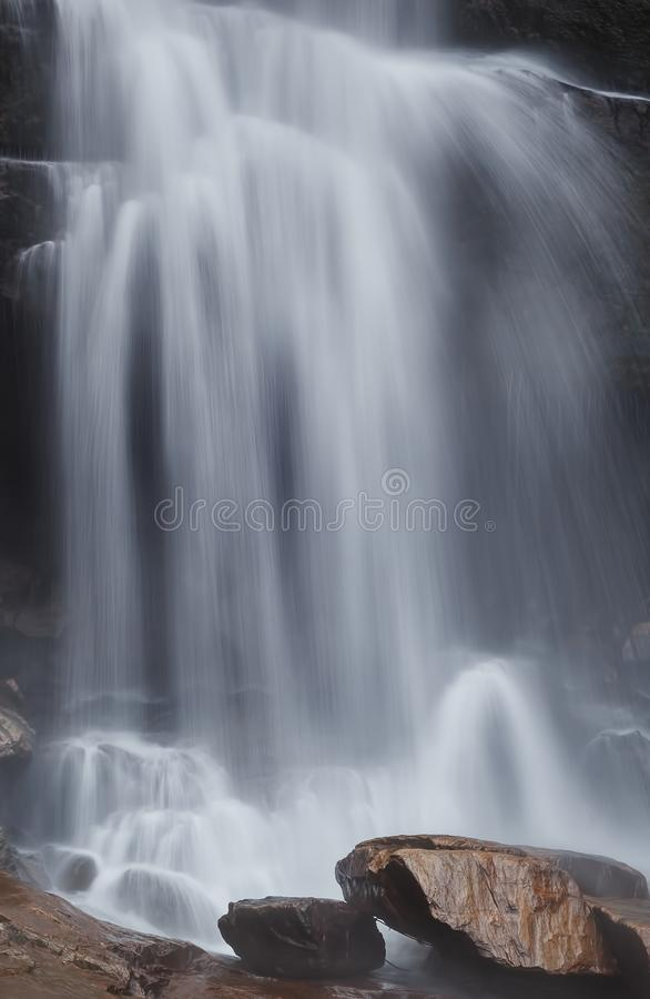 Sri Lanka. Waterfall Laxapana Falls. Landscapes and Architecture of Sri Lanka stock photography