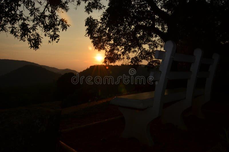 Sri Lankan Nature - Evening sunset. Sri lankan beautiful nature - Evening sunset view dumbara mountain royalty free stock image