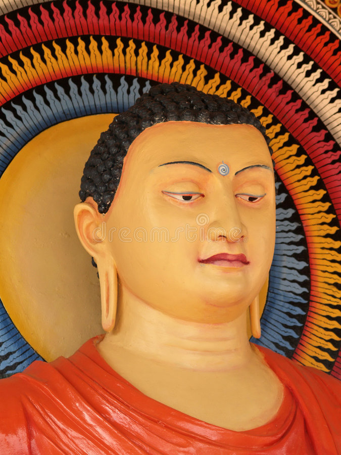 Sri Lankan Boedha royalty-vrije stock afbeelding