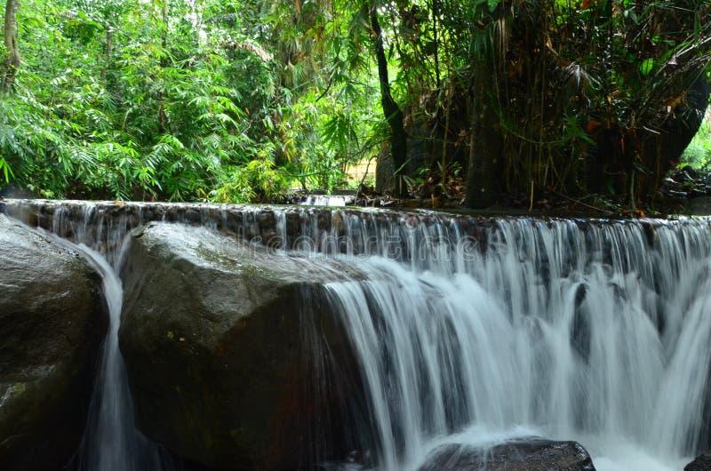 Sri Lankan Nature - Mini Water Fall. Sri lankan beautiful nature - mini water fall pictures of srilanka royalty free stock image