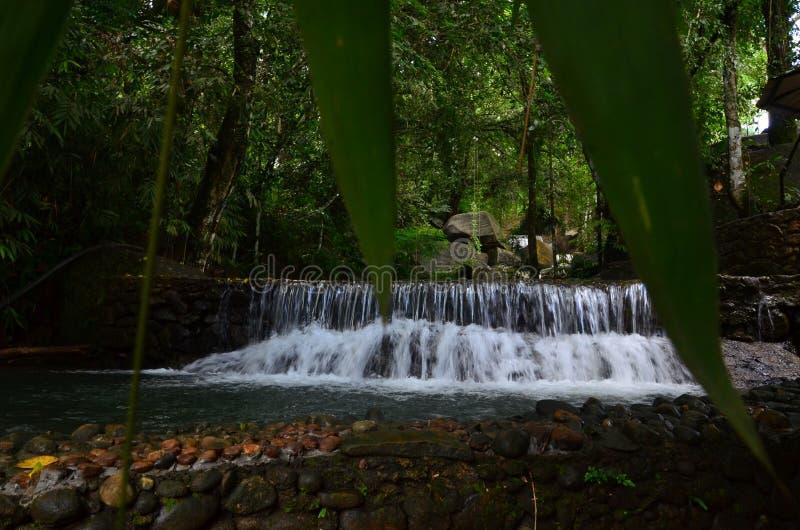 Sri Lankan Nature - Mini Water Fall. Sri lankan beautiful nature - mini water fall pictures of srilanka royalty free stock images