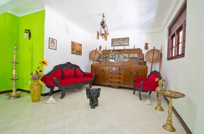 Sri Lankan Traditional Interior Decoration royalty free stock images