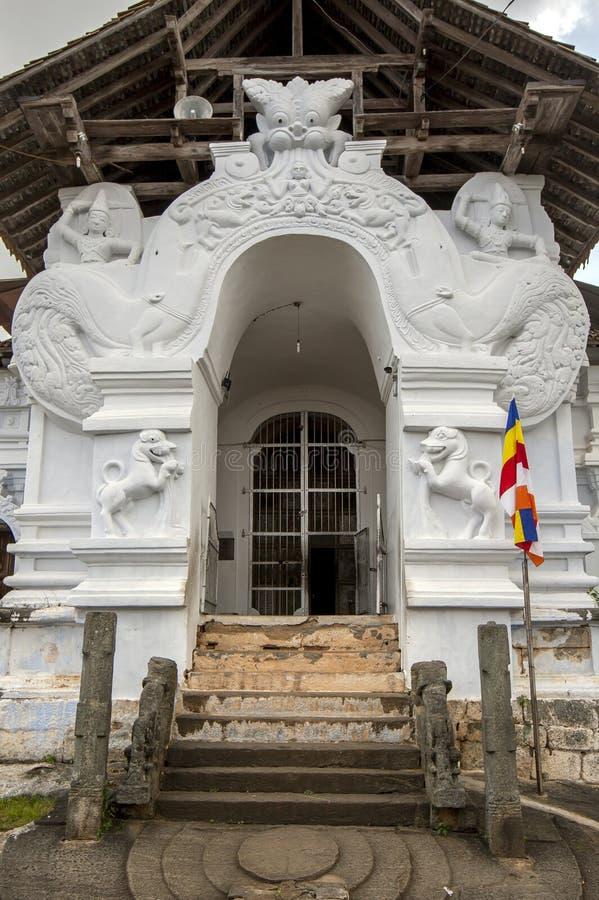 Sri Lankathilaka Rajamaha Viharaya fotografering för bildbyråer