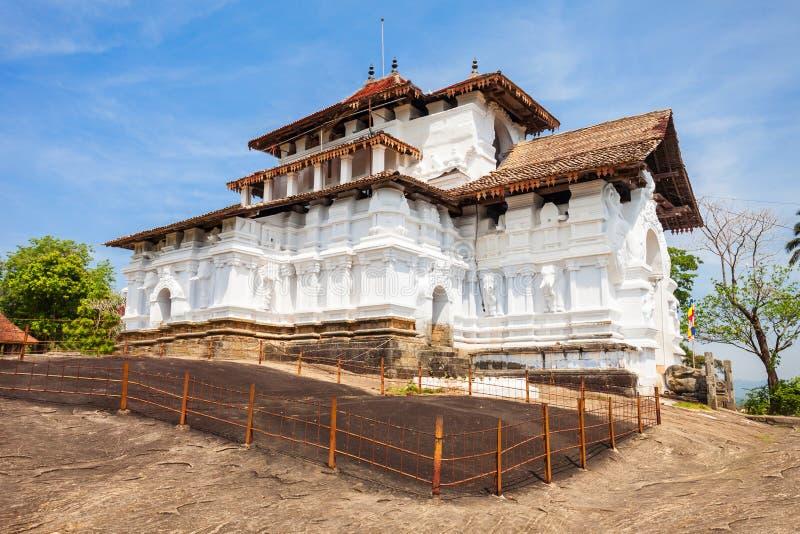 Sri Lankathilake Rajamaha Viharaya. Lankatilaka Vihara or Sri Lankathilake Rajamaha Viharaya is an ancient Buddhist temple situated in Udunuwara of Kandy, Sri royalty free stock images