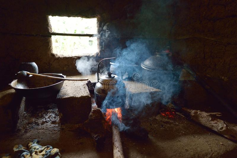 Sri Lankian tradycyjna kuchnia zdjęcie royalty free