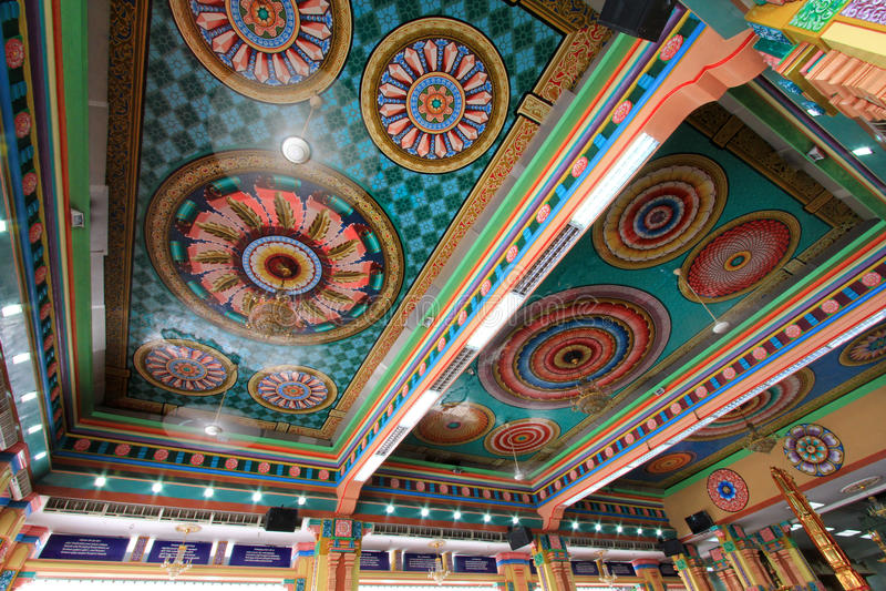 Sri Mahamariamman Indian Temple stock image