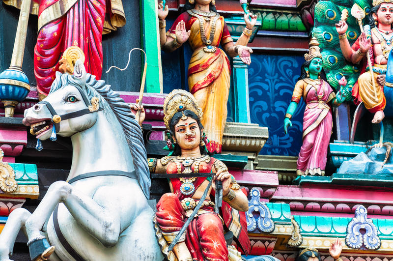 Download Sri Mahamariamman tempel arkivfoto. Bild av ställe, malaysia - 37347138