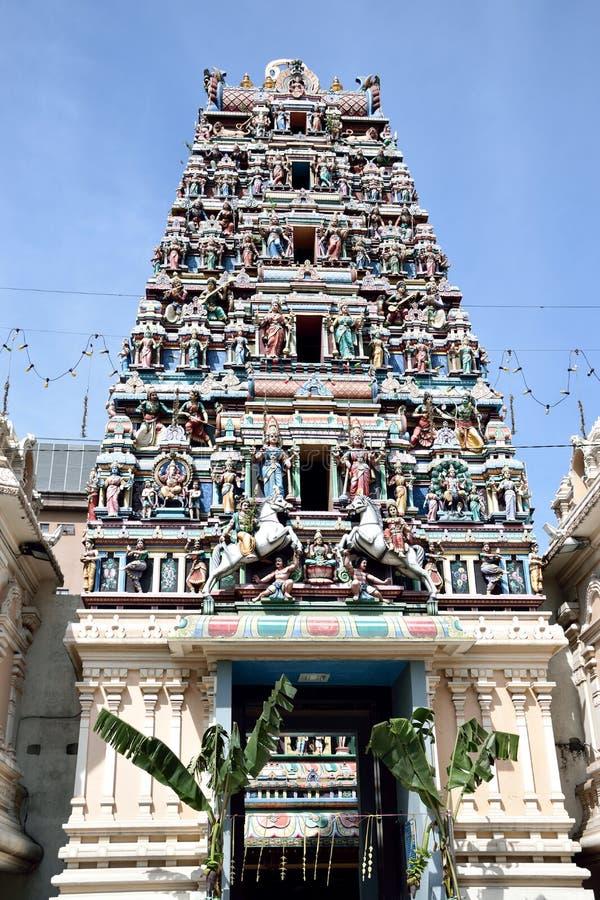 Sri Mahamariamman Temple stock photos