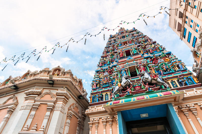 Sri Mahamariamman Temple royalty free stock photos