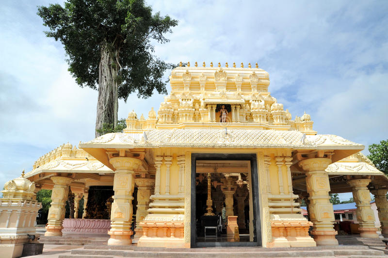Sri Marathandavar Bala Dhandayuthapani Alayam стоковые изображения rf