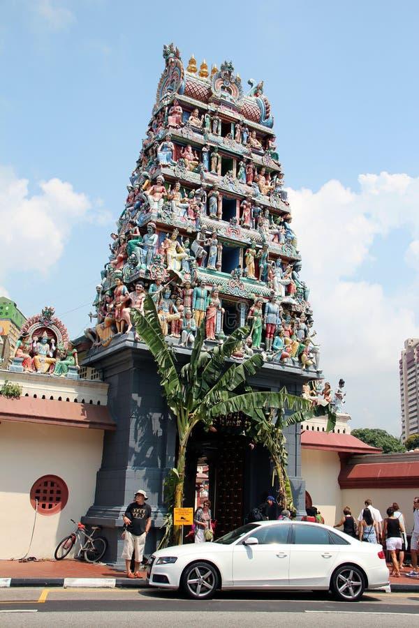 Sri Mariamman寺庙-新加坡 库存图片