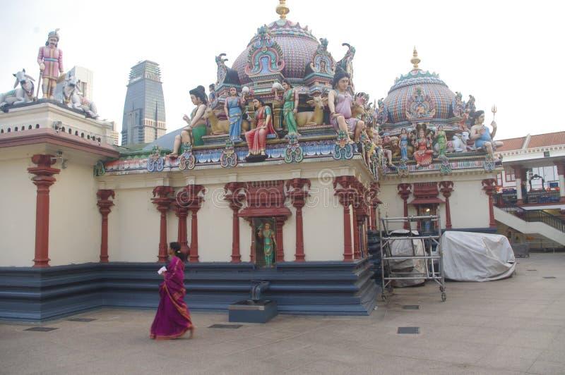 Sri Mariamman świątynia obrazy royalty free