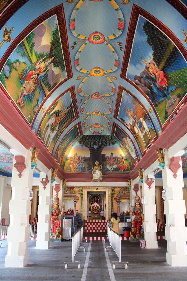 Sri Mariamman tempel - Singapore royaltyfria bilder