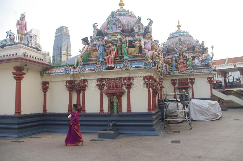 Sri Mariamman Temple royalty free stock images