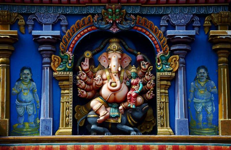 Sri Meenakshi寺庙 免版税库存图片