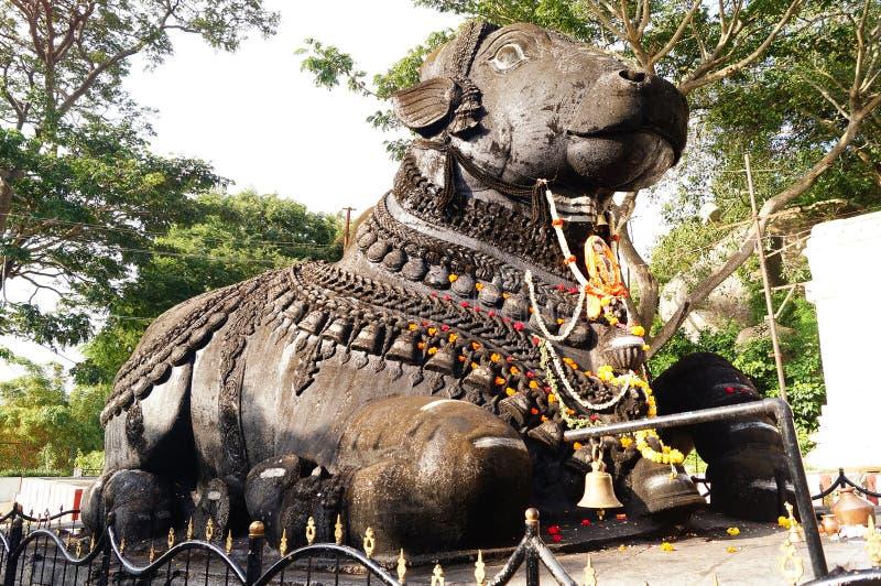 Sri Nandi Temple Mysure immagine stock libera da diritti