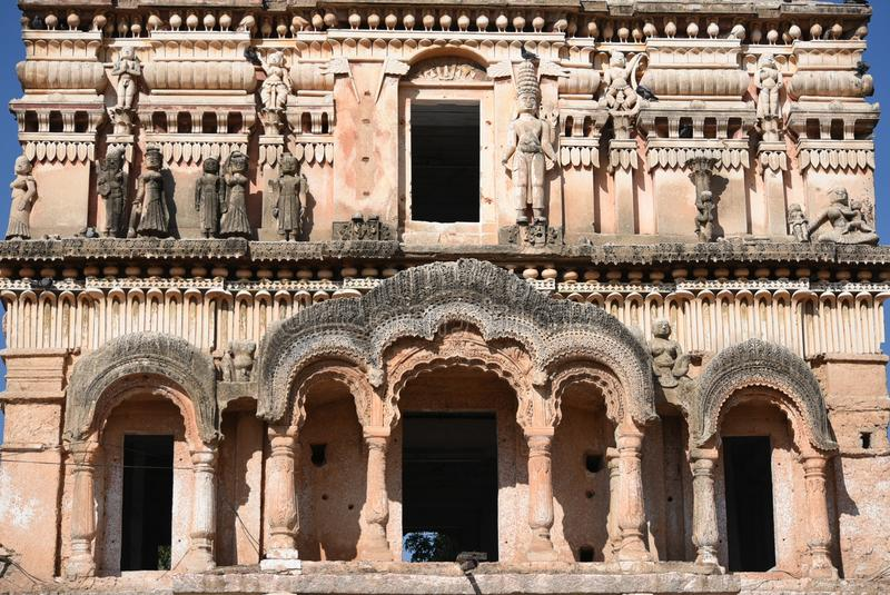 Sri Rama Chandra Swamy Temple Ammapalli, Hyderabad stockbild