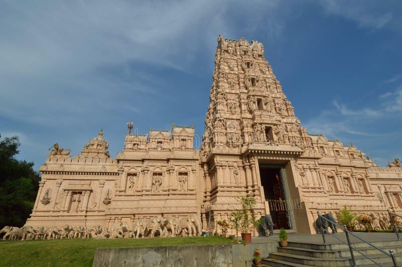 Sri Shakti Devasthanam寺庙 图库摄影