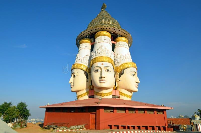 Sri Shanmukha寺庙 免版税库存图片