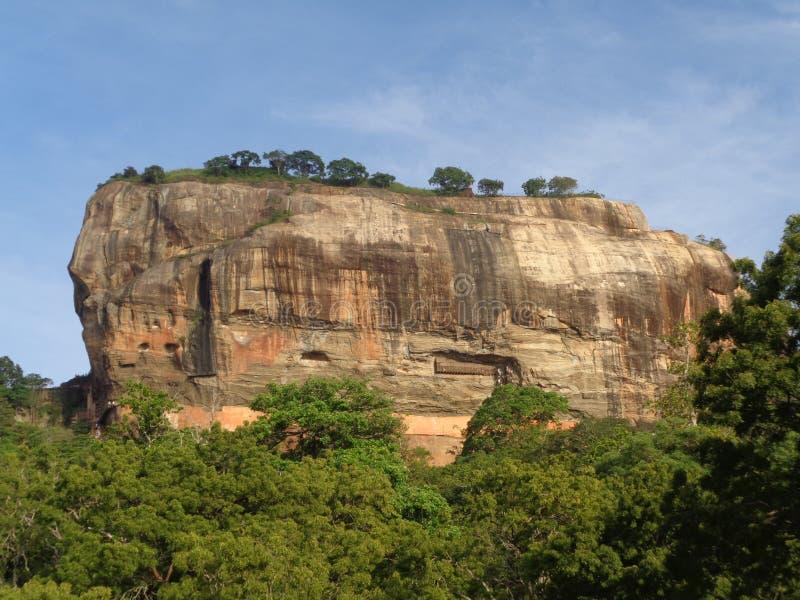 sri sigiriya βράχου lanka στοκ φωτογραφίες με δικαίωμα ελεύθερης χρήσης