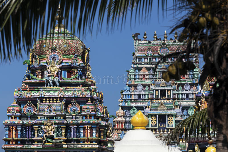 Sri Siva Subramaniya Swami Hindu Temple stock foto