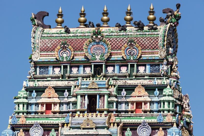 Sri Siva Subramaniya Swami Hindu Temple in Nadi fotografia stock