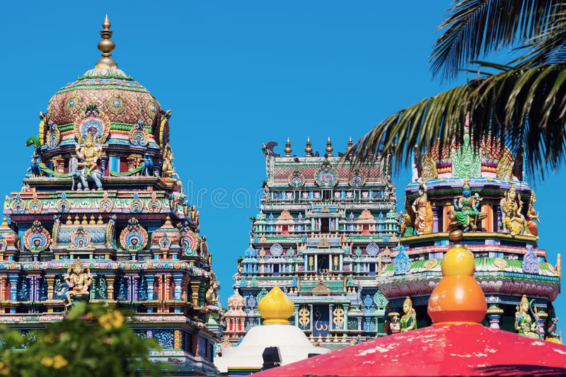 Sri Siva Subramaniya Swami Hindu Temple in Nadi royalty-vrije stock afbeelding