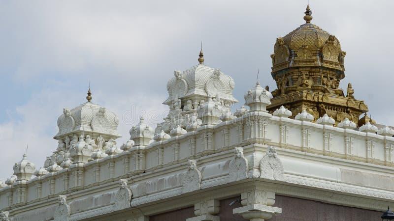 Sri Venkateswara寺庙在布里奇沃特,新泽西 免版税库存图片