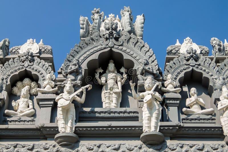 Sri Venkateswara museum av tempelkonst i Tirupati, Indien royaltyfri bild