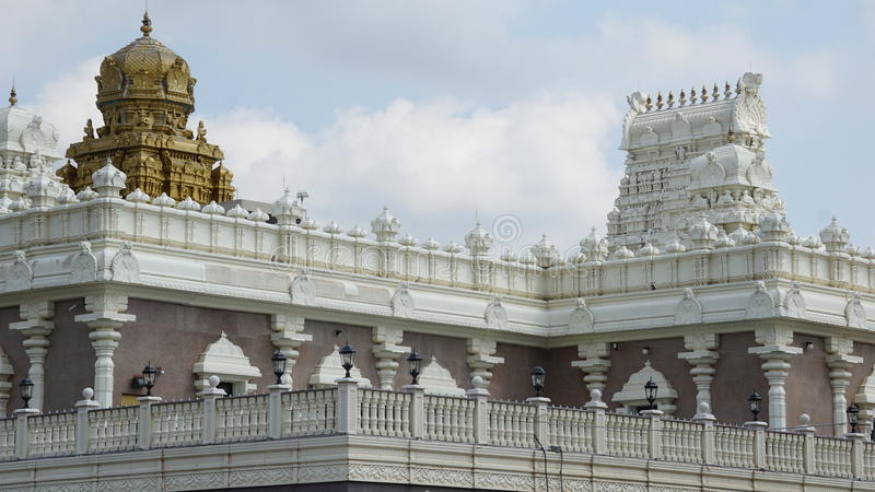 Sri Venkateswara tempel i Bridgewater som är ny - ärmlös tröja arkivfoto