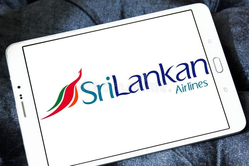 SriLankan λογότυπο αερογραμμών στοκ φωτογραφίες