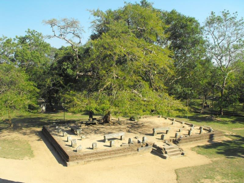 THIS IS IMAGE BEAUTIFUL YAPAHUWA ROCK FORTRESS OF SRI LANKA. SRILANKAN BEAUTIFUL YAPAHUWA ROCK FORTRESS OF KURUNEGALA royalty free stock photo