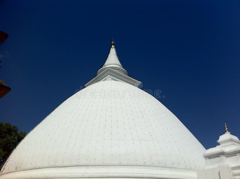 Srilankan Temple stock photo