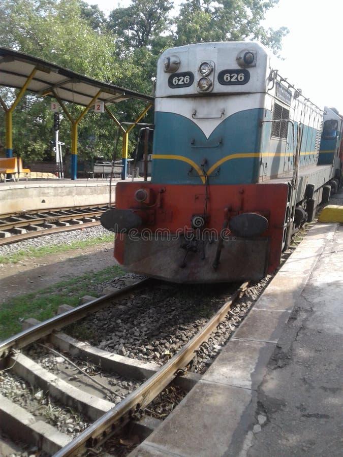 Srilankan trein stock foto's