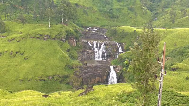 A srilankan waterfall stock images