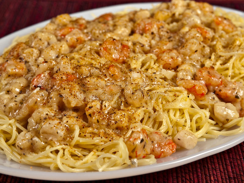 Srimp Scampi and Anglehair