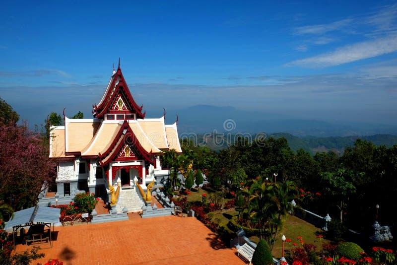 Srinakarinthara Mahasandhikiri pagod arkivfoton